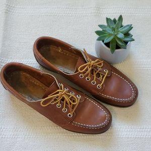Sebago Leather Campsides